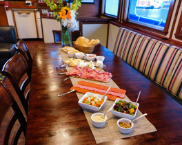 MV Sikumi Interior Dining