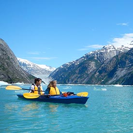 Sea Kayaking Alaska Cruise Free Excursion