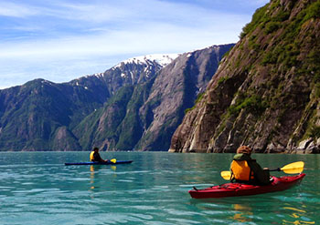 sea kayaking alaska cruise