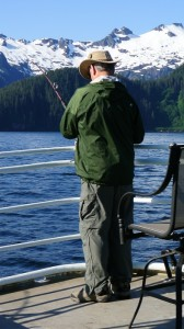 Alaska Cruise Fishing Excursions - Salmon Halibut
